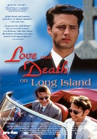 Love and Death on Long Island - German Movie Poster (xs thumbnail)