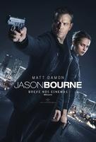 Jason Bourne - Brazilian Movie Poster (xs thumbnail)