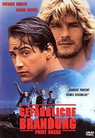 Point Break - German DVD cover (xs thumbnail)