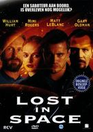 Lost in Space - Dutch DVD movie cover (xs thumbnail)