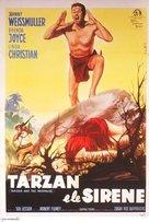 Tarzan and the Mermaids - Italian Movie Poster (xs thumbnail)