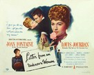 Letter from an Unknown Woman - Movie Poster (xs thumbnail)