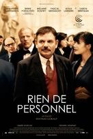 Rien de personnel - Belgian Movie Poster (xs thumbnail)