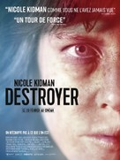 Destroyer - French Movie Poster (xs thumbnail)