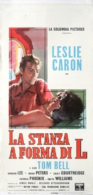 The L-Shaped Room - Italian Movie Poster (xs thumbnail)