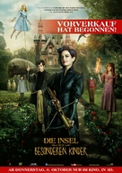 Miss Peregrine's Home for Peculiar Children - German Movie Poster (xs thumbnail)