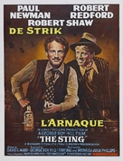 The Sting - Belgian Movie Poster (xs thumbnail)