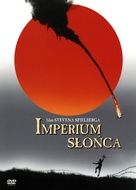 Empire Of The Sun - Polish DVD movie cover (xs thumbnail)