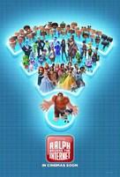Ralph Breaks the Internet - International Movie Poster (xs thumbnail)
