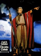 The Ten Commandments - German poster (xs thumbnail)