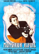 Monsieur Ripois       - French Movie Poster (xs thumbnail)