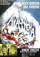 Avalanche - Spanish Movie Poster (xs thumbnail)