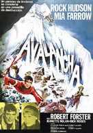 Avalanche - Spanish Movie Poster (xs thumbnail)