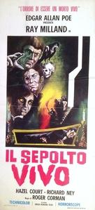 Premature Burial - Italian Movie Poster (xs thumbnail)