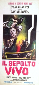 Premature Burial - Italian Movie Poster (xs thumbnail)