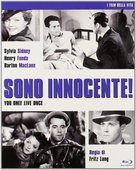 You Only Live Once - Italian Blu-Ray movie cover (xs thumbnail)