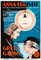 Anna Christie - Swedish Movie Poster (xs thumbnail)