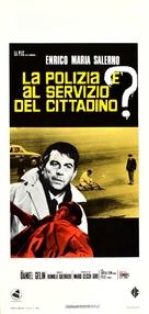 La polizia è al servizio del cittadino? - Italian Movie Poster (xs thumbnail)