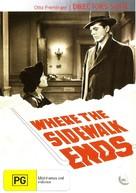Where the Sidewalk Ends - Australian DVD movie cover (xs thumbnail)