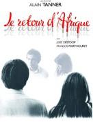 Le retour d'Afrique - French Movie Cover (xs thumbnail)