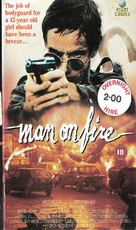 Man on Fire - British VHS cover (xs thumbnail)