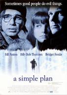 A Simple Plan - Australian Movie Poster (xs thumbnail)