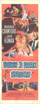 Down Three Dark Streets - Movie Poster (xs thumbnail)