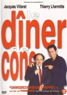 Le dîner de cons - Dutch DVD cover (xs thumbnail)