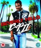 Beverly Hills Cop 2 - British Blu-Ray movie cover (xs thumbnail)