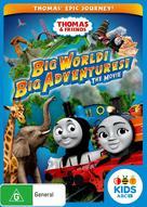 Thomas & Friends: Big World! Big Adventures! The Movie - Australian DVD cover (xs thumbnail)