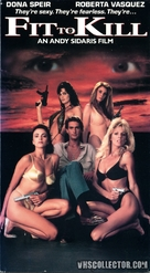 Fit to Kill - VHS cover (xs thumbnail)