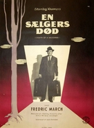 Death of a Salesman - Danish Movie Poster (xs thumbnail)