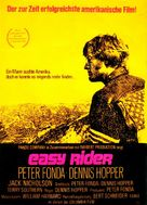 Easy Rider - German Movie Poster (xs thumbnail)
