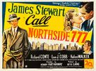 Call Northside 777 - British Movie Poster (xs thumbnail)