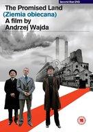 Ziemia obiecana - British DVD cover (xs thumbnail)