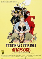 Amarcord - German Movie Poster (xs thumbnail)