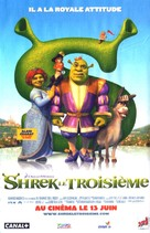 Shrek the Third - French Movie Poster (xs thumbnail)