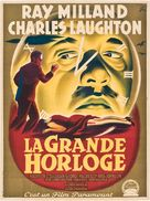 The Big Clock - French Movie Poster (xs thumbnail)