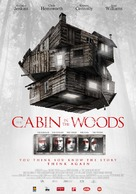 The Cabin in the Woods - Dutch Movie Poster (xs thumbnail)