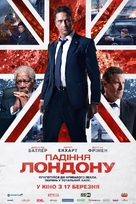 London Has Fallen - Ukrainian Movie Poster (xs thumbnail)