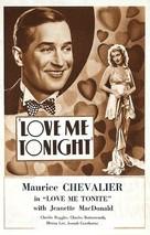 Love Me Tonight - Movie Poster (xs thumbnail)