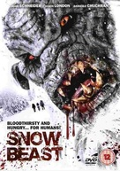 Snow Beast - British DVD cover (xs thumbnail)