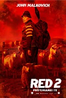 RED 2 - Spanish Movie Poster (xs thumbnail)