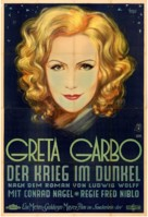 The Mysterious Lady - German Movie Poster (xs thumbnail)