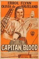 Captain Blood - Argentinian Movie Poster (xs thumbnail)