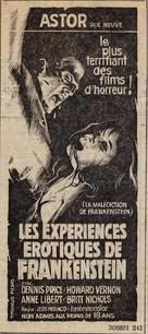 Les expériences érotiques de Frankenstein - French poster (xs thumbnail)
