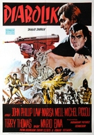 Diabolik - Yugoslav Movie Poster (xs thumbnail)