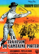 Thunder Over the Plains - French Movie Poster (xs thumbnail)