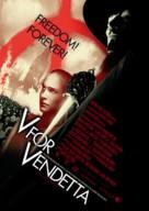 V For Vendetta - Norwegian Movie Poster (xs thumbnail)