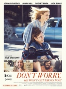 Don't Worry, He Won't Get Far on Foot - French Movie Poster (xs thumbnail)